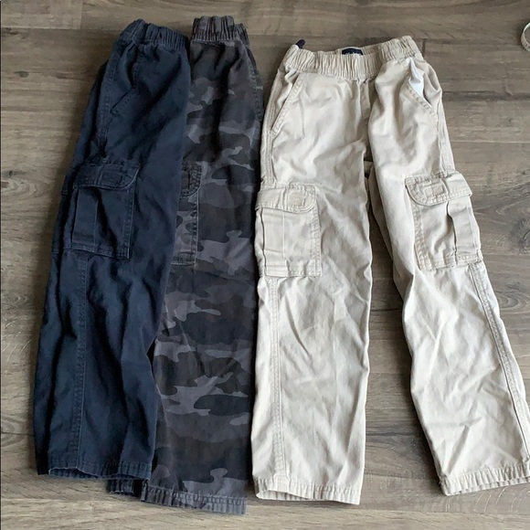 The Childrens Place Big Boys Cargo Jogger Pant
